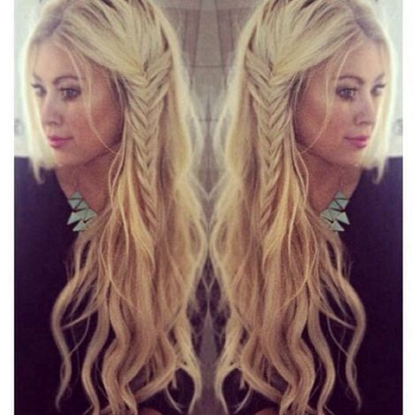Casual Hair Style Fashion Trends Zone Hair Styles Loose Hairstyles Cute Everyday Hairstyles