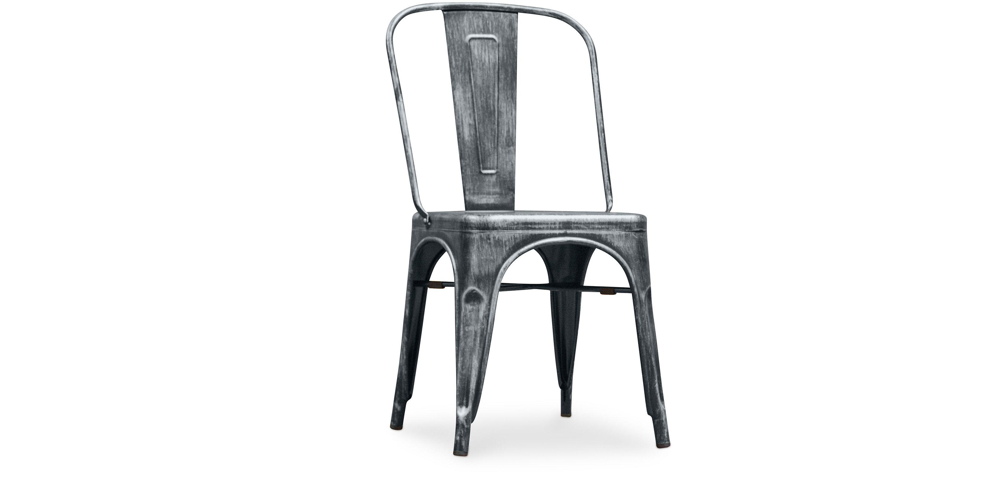 Tolix Chair Square Seat Xavier Pauchard Chaises Tolix Chaise
