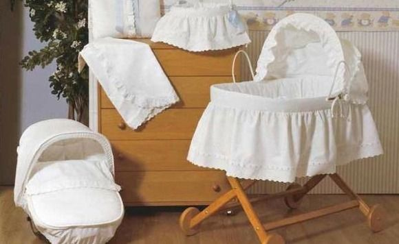 Cunas y Moises para bebés clásicos   Moises   Pinterest   Babies ...