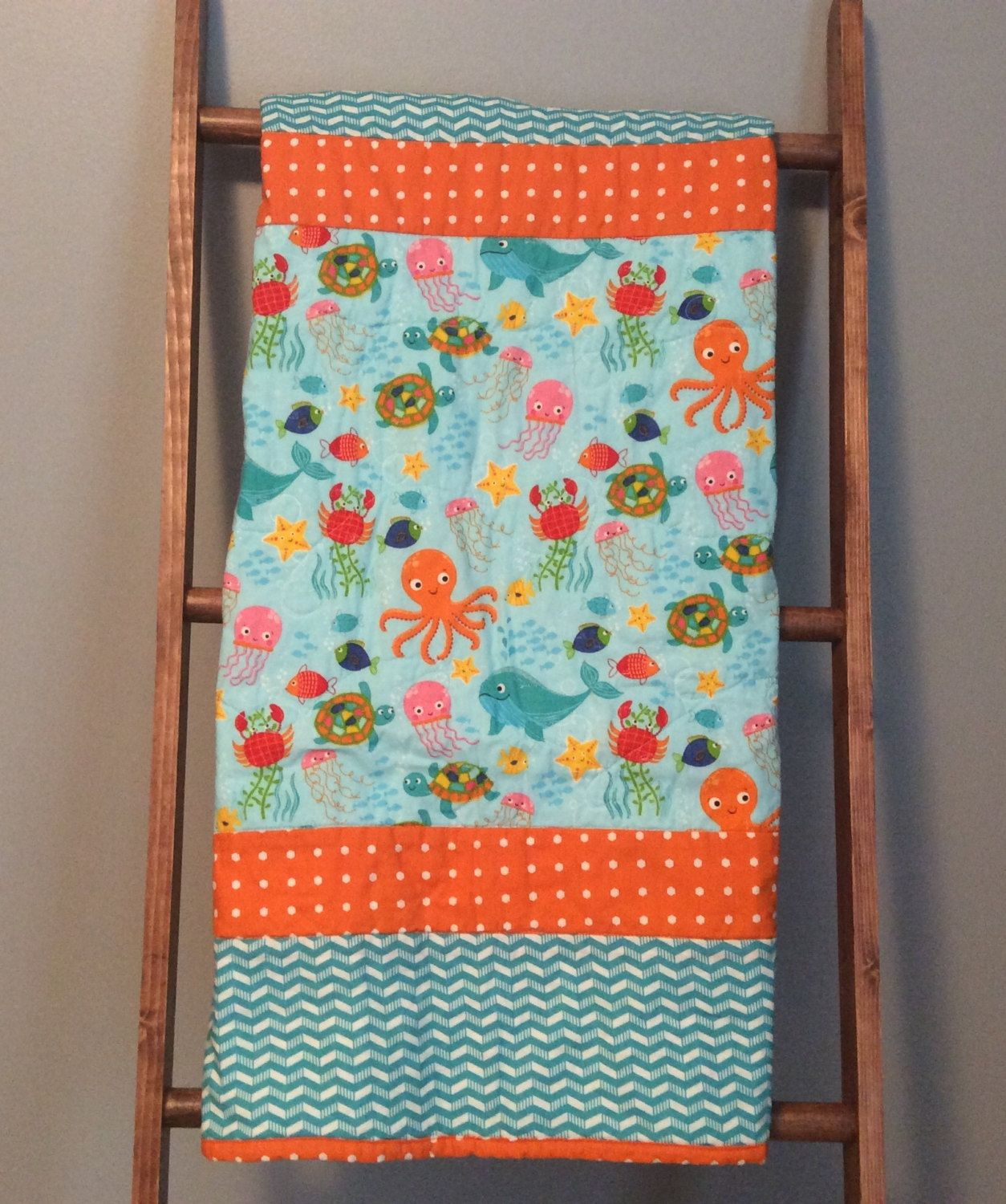 Baby quilt, baby boy quilt, gender neutral baby quilt, handmade ... : handmade baby boy quilts - Adamdwight.com
