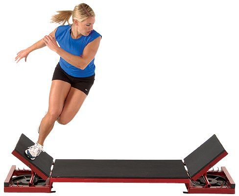 Amazon Com Power Systems Adjustable Lateral Plyo Box