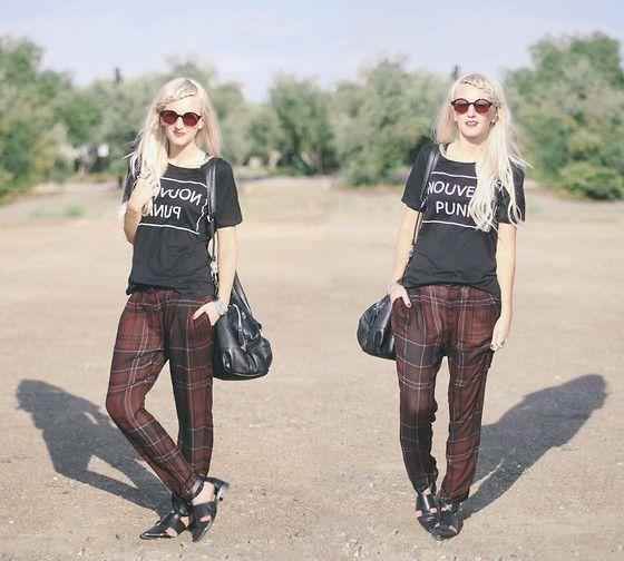 Plaid Trousers Punk