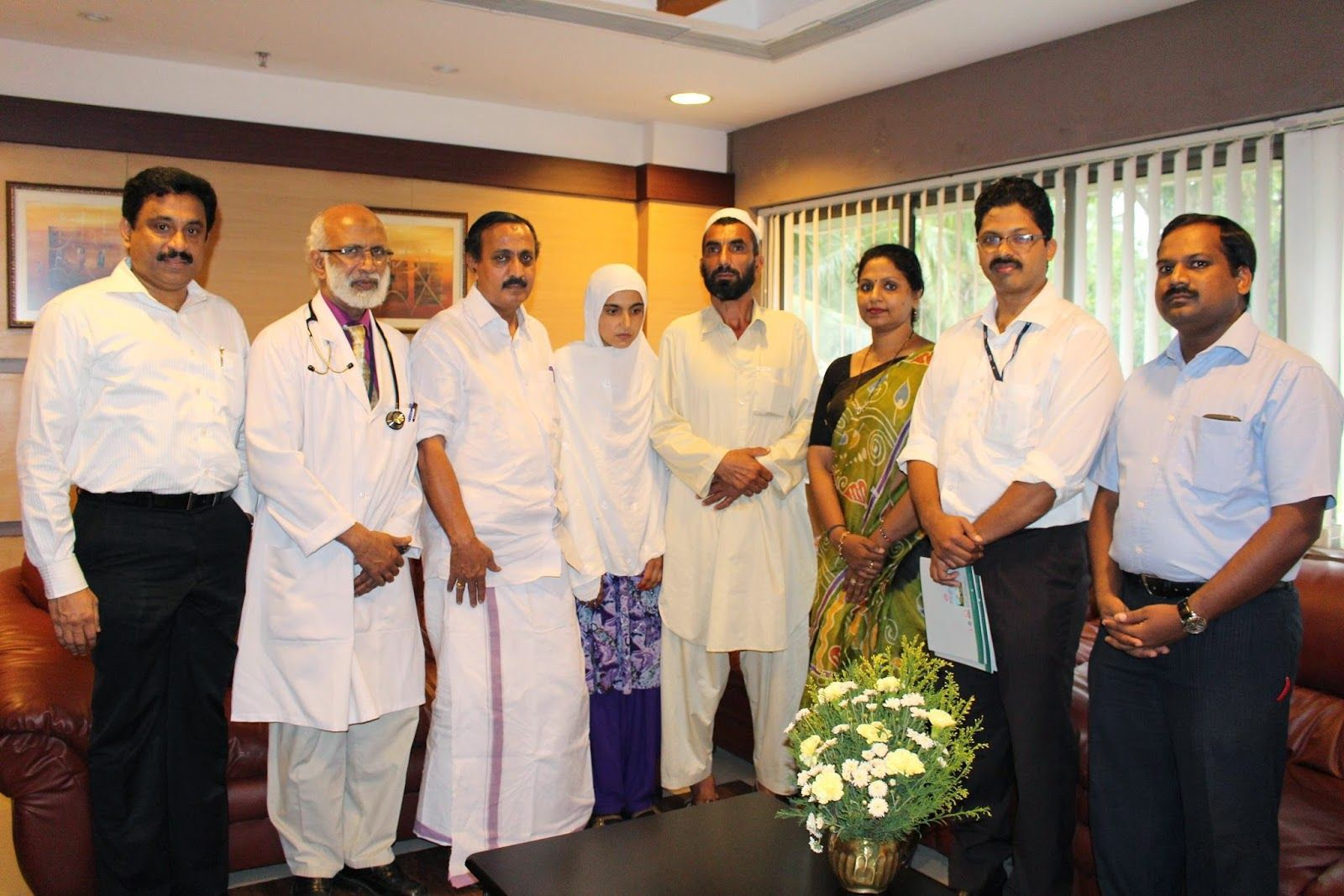 Malabar Institute Of Medical Sciences Ltd: Dr. Moopens' Foundation offers Free Heart Surgery for Afghan Girl in MIMS Calicut