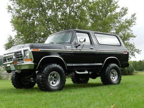 Bronco Ford Bronco Bronco Truck Ford Pickup Trucks