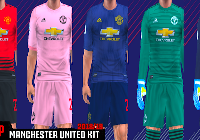 2b1d485ab Manchester United 18 19 Kits - PES PSP (PPSSPP)