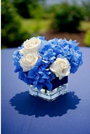 Populaire Decoration de mariage bleue thème mer | Bouquet fleurs, Fleurs  MU36