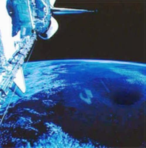EXTRATERRESTRE ONLINE: NASA deixa Vazar Imagens Espetaculares de uma Entrada no Polo Norte para Terra Oca?