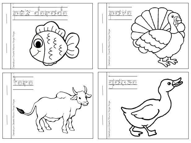Mi libro de colorear de animales domesticos (5)   Proyectos que ...