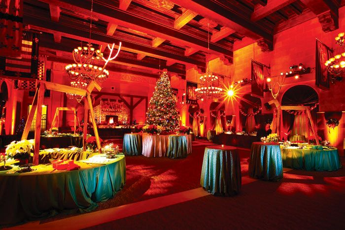 Elaborate corporate holiday parties are likely a thing of the past ...