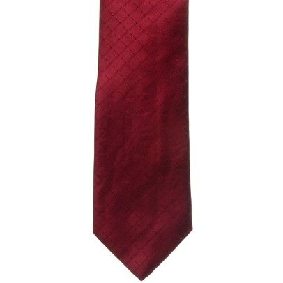 Ferre tie in Burgundy on mysale.com