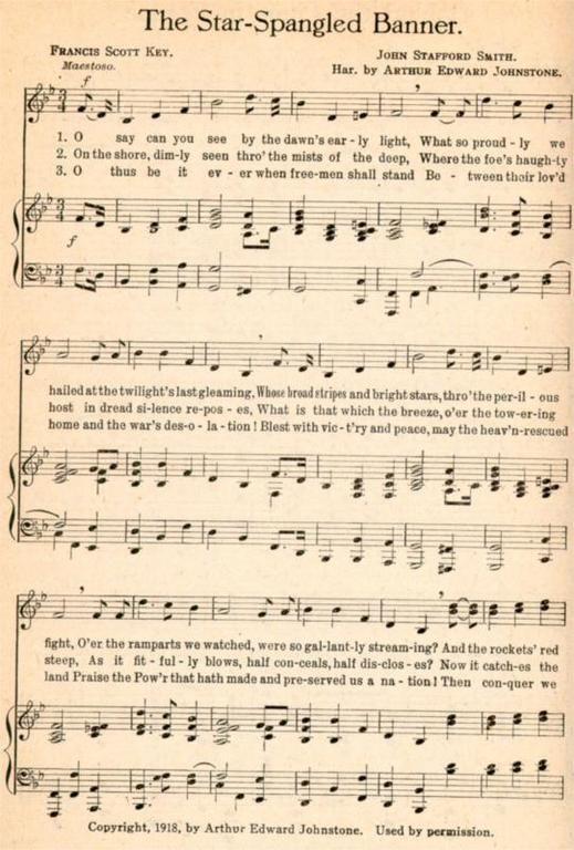 U S History Timeline 1914 1929 Star Spangled Banner Happy