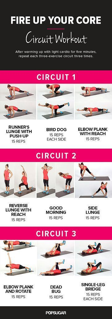 Fire Up Your Core - Circuit Workout
