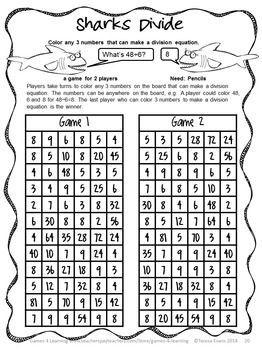 Challenger image regarding printable multiplication games for 3rd grade
