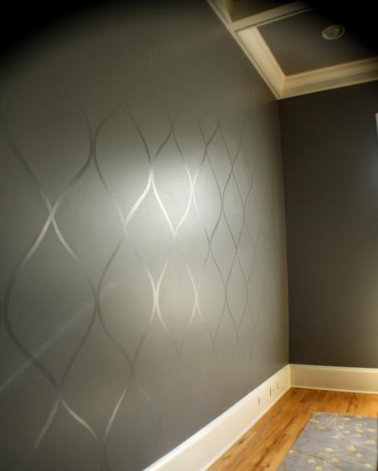 Glossy Over Matte Paint Home Decor Wall Treatments Home Diy