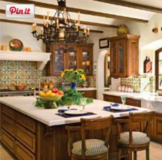 Arizona Hacienda Kitchen Cabinets