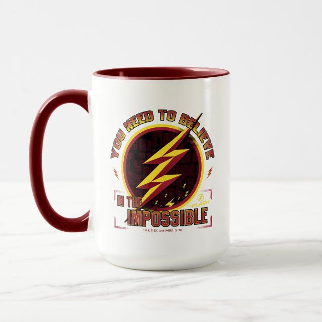 The Flash  You Need To Believe In The Imposible Mug #Sponsored , #affiliate, #Mug, #created, #Imposible, #Shop, #Flash