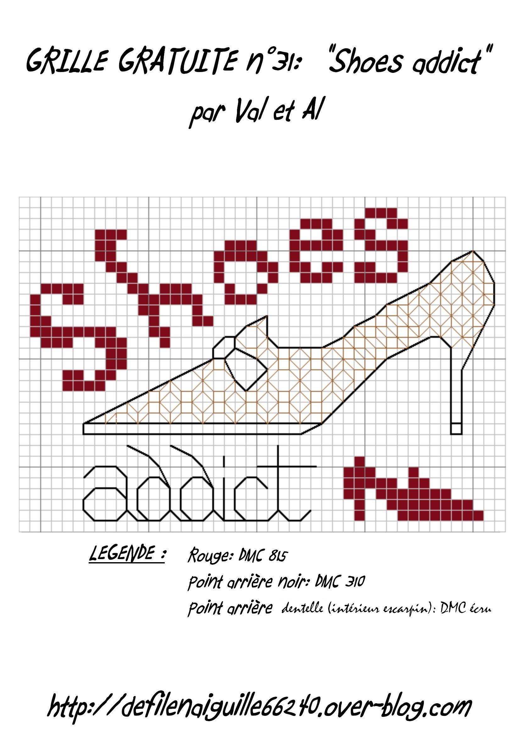 point de croix chaussures- cross stitch shoes addict | Zapatos ...