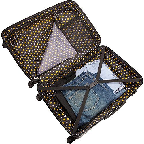 pb travel Smiley Happy World 3PC Spinner Luggage Set