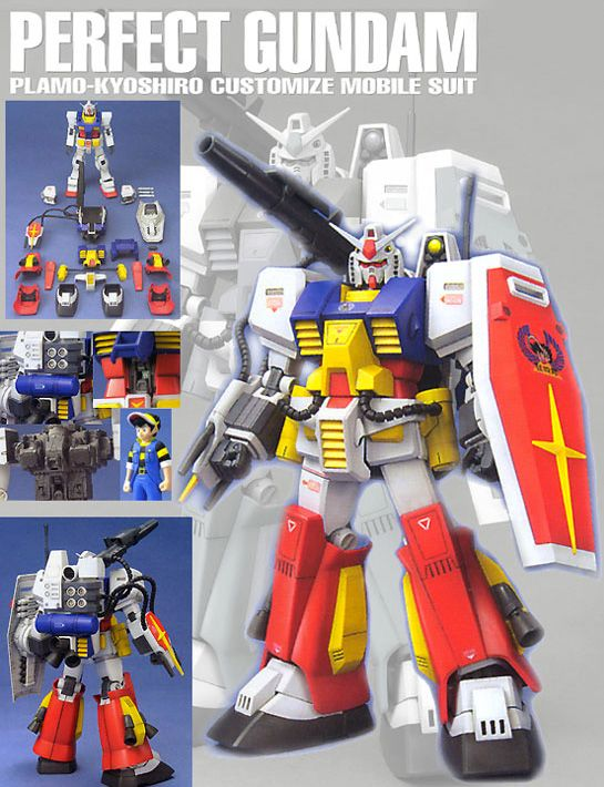 Image result for MG PF-78-1 Perfect Gundam