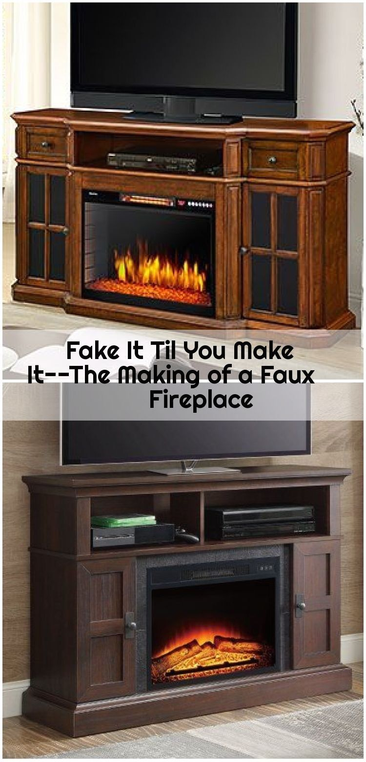 Fake It Til You Make It--The Making of a Faux Fireplace, # ...
