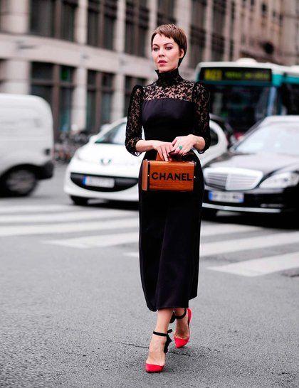 The Russian Street Style Mafia Chanel Street Style Street Style Chic Ulyana Sergeenko