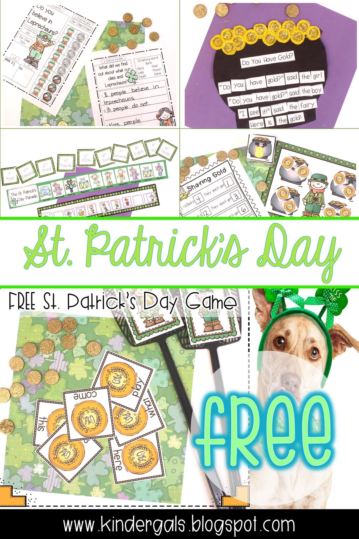 Five Fun Activities For Saint Patrick S Day And A Peek At