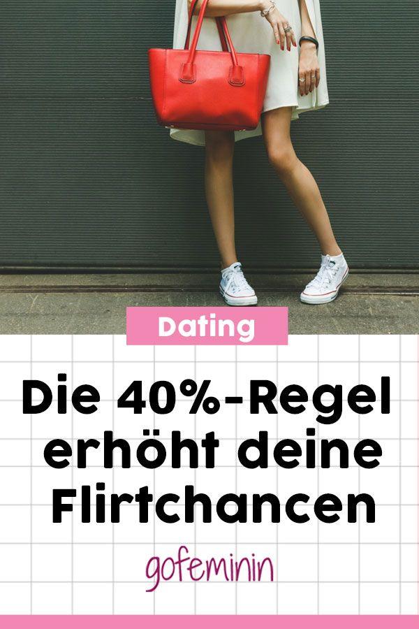 Flirten mit 40