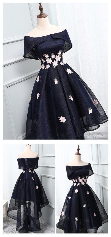 2017 Heimkehr Kleid Asymmetrische Kurzes Abschlussballkleid Party Kleid Junioren Heimkehr … - Kleider #dresseseveryoccasion