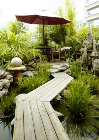 Landscaping Designs for Long Narrow Gardens | Narrow garden on Long Narrow Yard Landscape Design Ideas id=42435