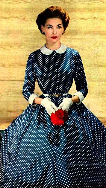 Georgia Hamilton ♥ Harper's Bazaar, February 1952