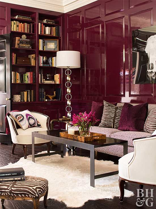 Your home deserves a bit of sparkle and shine. For a dramatic look, try these high-gloss paint ideas. They're guaranteed to pump up light and add some sheen to any space.