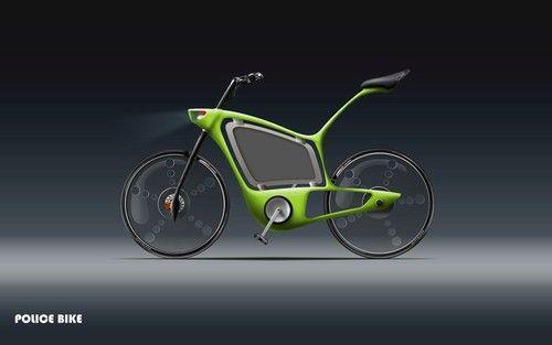 Ciprian Frunzeanu, Police bicycle, Future Bike