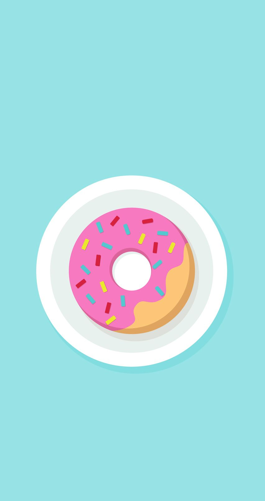 Picture Shared By Izip Izip Is A Great Zip File Management Tool On Your Mobile Devices I Have Used It And Really L Donut Art Print Wallpaper Iphone Wallpaper