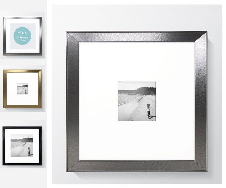 Lifestyles White Frame By Studio Decor White Square Frame Studio Decor Frames On Wall