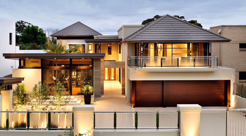 Modern House Design In Australia Arkhefield , . Contemporary House Design  Australian Contemporary House Design Home, Twin Modern Homes In .
