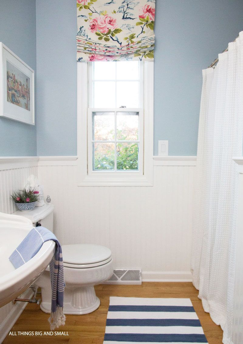 Beadboard Bathroom How To Step-by-Step | ALL THINGS BIG AND SMALL ...