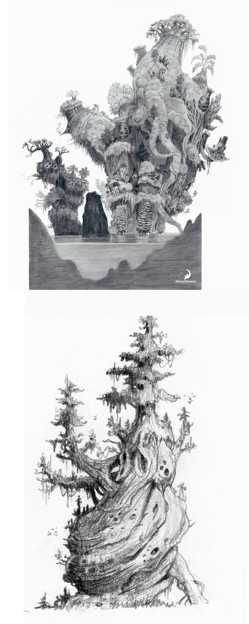 Trabalhos de Nicolas Weis para The Croods   THECAB - The Concept Art Blog #environment