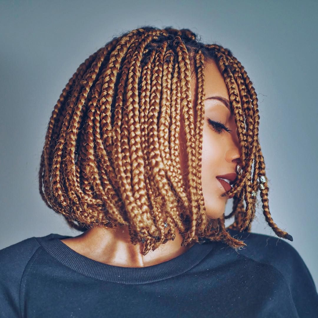 box braids bob cut blonde tresses africaine pinterest coiffure cheveux et cheveux afro. Black Bedroom Furniture Sets. Home Design Ideas