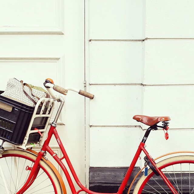 My baby's back!  #bikesoflondon #cyclinglondon by annadenisefloor