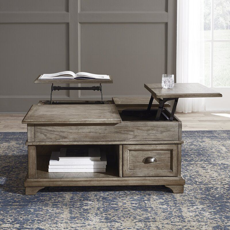 Pleasing Carignan Lift Top Coffee Table With Storage Living Room In Uwap Interior Chair Design Uwaporg