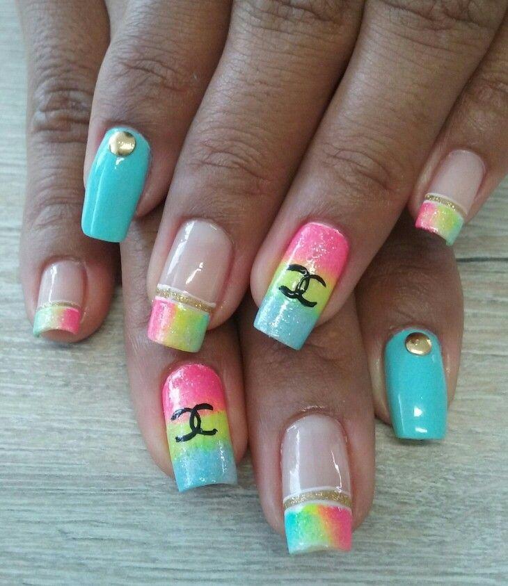 Pin by Elizabeth on Nails   Pinterest   Nail nail, Jewel nails and ...