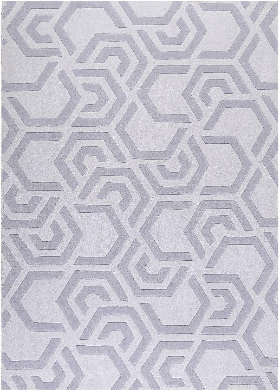 Esprit Kurzflor Teppich Aus Wolle Casino Grau Silber Teppich Teppichmuster Kurzflor Teppiche