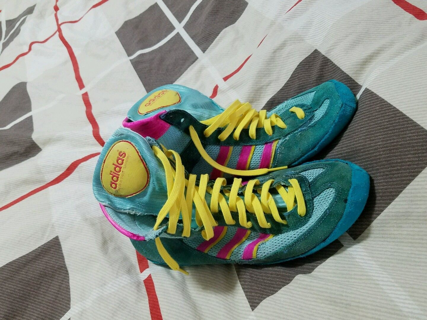 Pin on Adidas 88 Combat Speed Wrestling Shoes