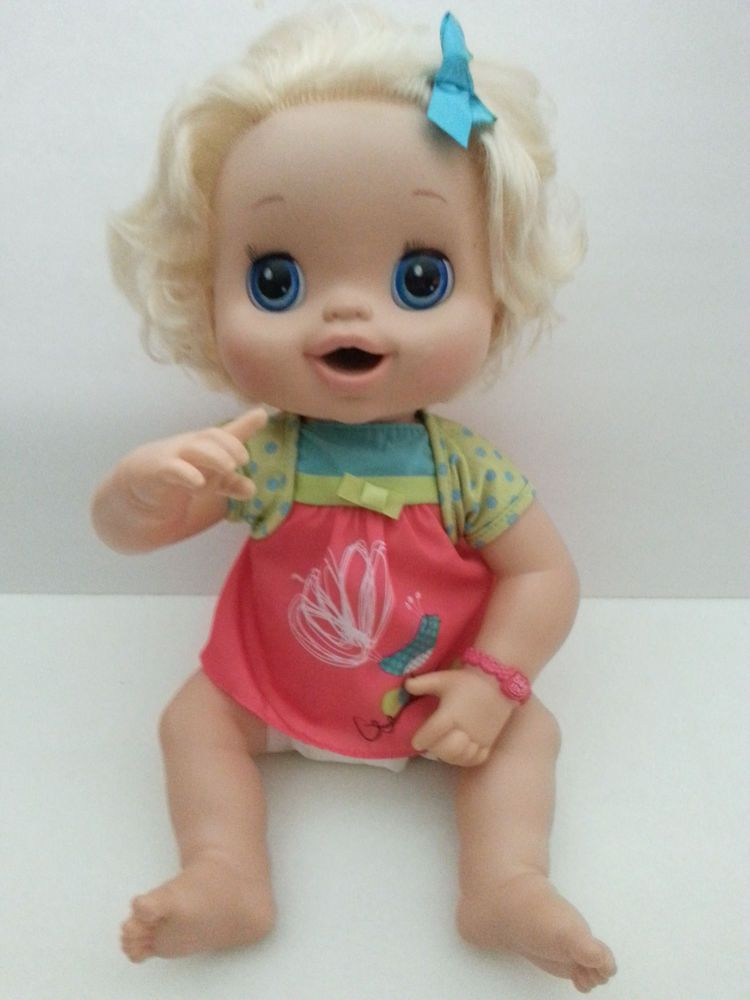 Hasbro Baby Alive Real Surprises Doll 2010 Interactive Talks Eats Pees Poops Vgc Baby Alive Baby Alive Food Baby Doll Clothes