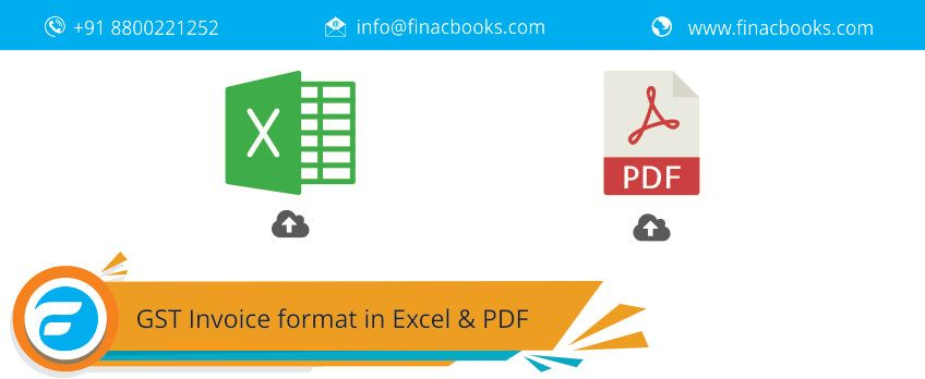 Download Gst Invoice Format For The Service Providers In Excel And