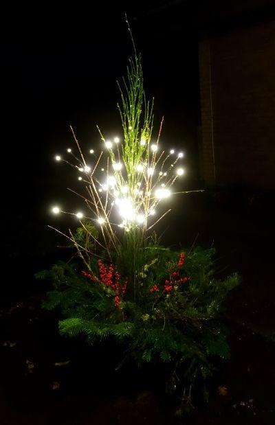 Del 2: Saml natur og lav udendørs julepynt