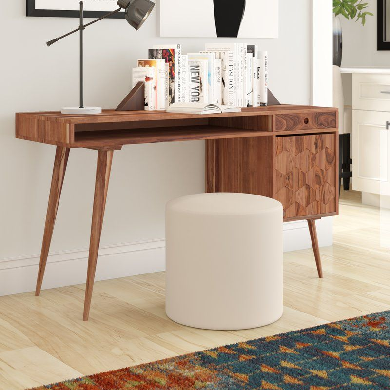 Lietz Solid Wood Desk Wood Computer Desk Best Home Office Desk
