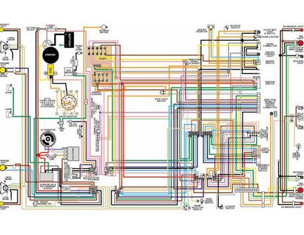 1955 ford fairlane wiring diagram 2004 saturn ion ignition t bird | 55 thunderbird (t-bird) 11x17 color laminated ...