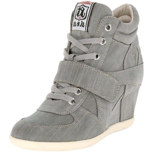 Sneakers fashion, Sneakers, Wedge sneakers