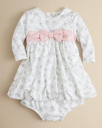 af627681442 Little Me Infant Girls' Belle Bow Dress - Sizes 3-9 Months ...